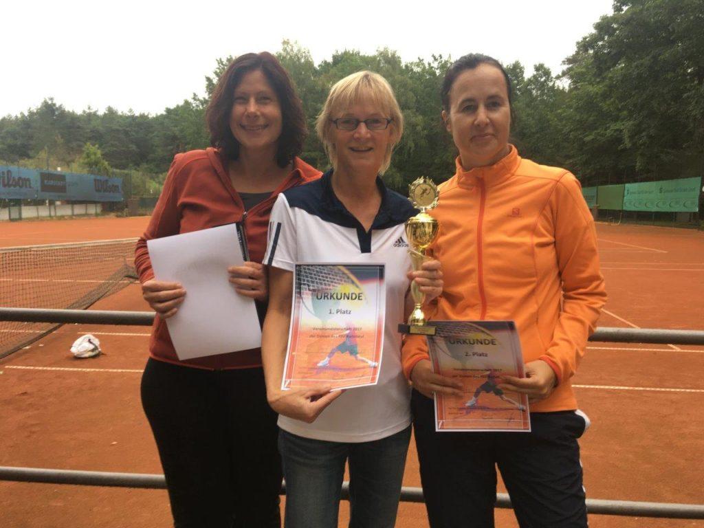 Vereinsmeister Damen 2017